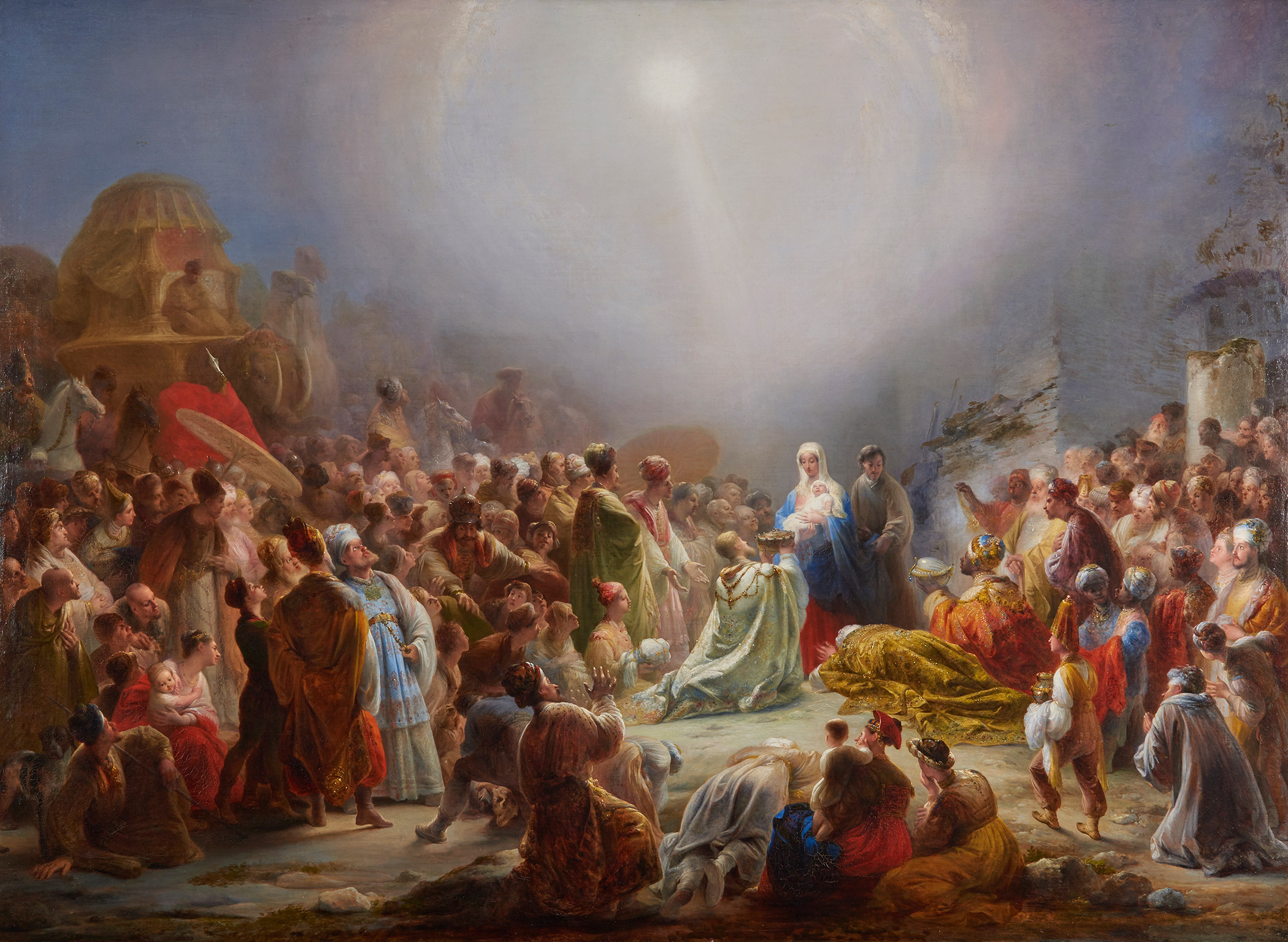 domingos antonio de sequeira the adoration of the magi 1828